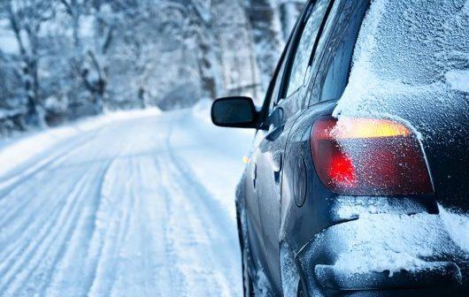 мойка машины зимой